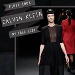 Szimpla, de erőteljes: Calvin Klein 2012 őszi kollekciója