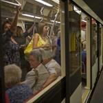 Nem áll meg a metró a Blaha Lujza téren