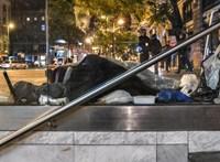 Már csak az a kérdés, mennyire lesz vad a rendőrség – mától bűn, ha valaki hajléktalan