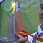 Videó: Így csilingel a riói bronzérem