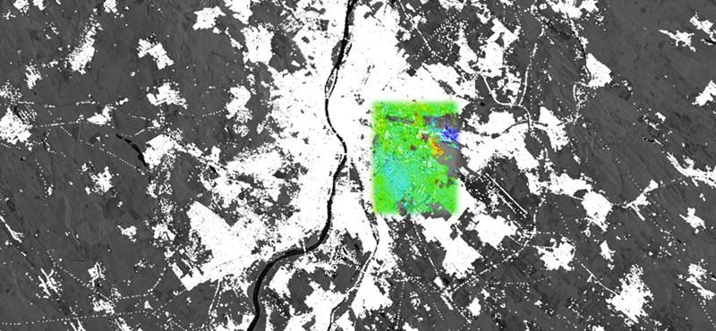 Megnézték az űrből, hogyan mozgott Budapest 1995 és 2017 között – videó