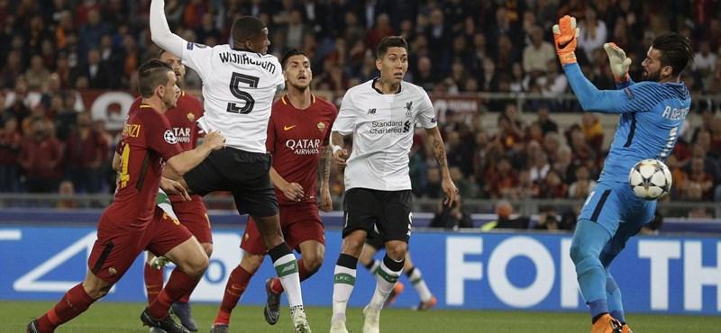 Hiába a Roma-hajrá, döntős a Liverpool