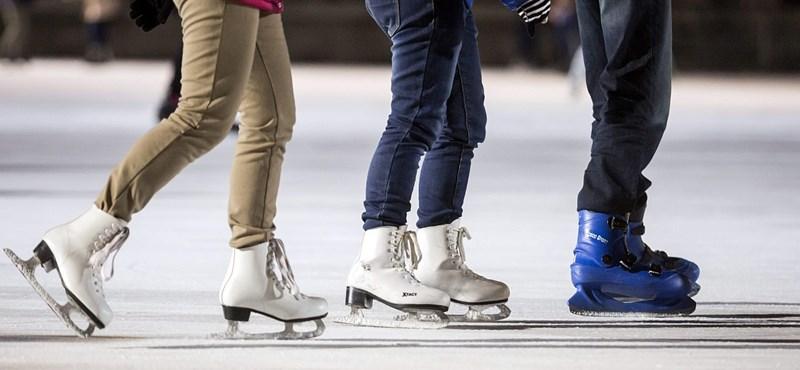 Ezeken a pályákon korcsolyázhat ingyen Budapesten