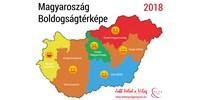 térkép Élet+Stílus: Térkép készült a magyar boldogságról   HVG.hu
