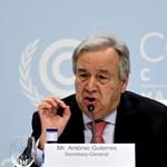 A koronavírus-válságnál is égetőbb vészhelyzetről ír az ENSZ-főtitkár