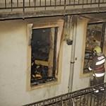 Fotó: Romhalmazzá vált a Dembinszky utcában felrobbant lakás