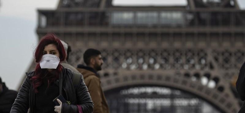 Franciaországban is szinte minden bezár