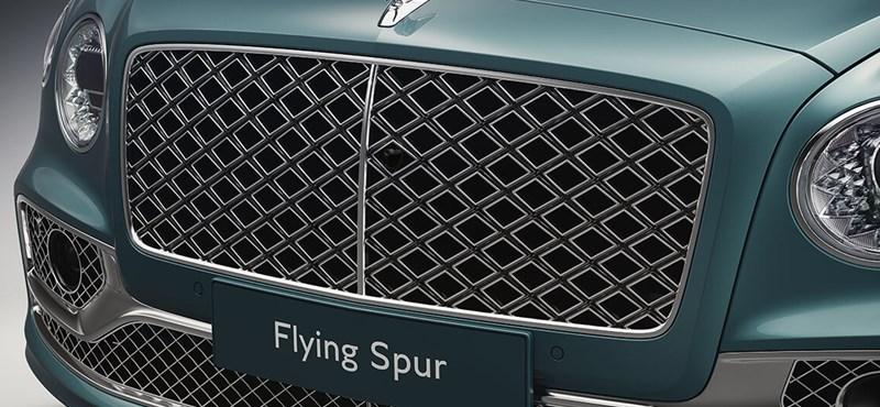 Parrilla de lujo: aquí está el nuevo Bentley Flying Spur Mulliner