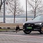 Testvérharc: kicsit villanyos dízel Volvo a nagyon erős zöld rendszámos ellen