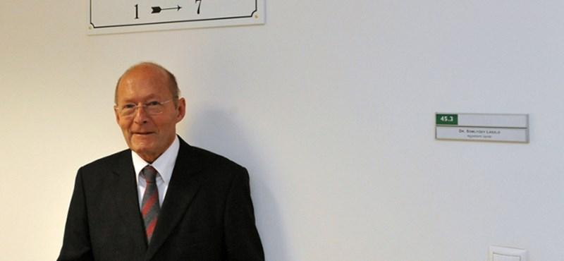 Európai életmű díjas lett Somlyódy László professzor