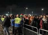 A szurkolók már hangolnak a walesi-magyar meccsre - élő