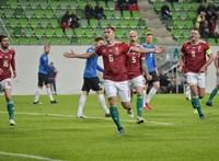 Ezekkel a gólokkal verte az észteket a magyar válogatott – videó