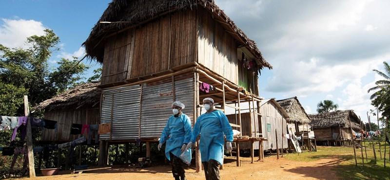 Egymillió felett a koronavírus-fertőzöttek száma Brazíliában, már 50 ezernél többen haltak meg