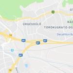Baleset blokkolja az M7-est a Budapestről kivezető oldalon