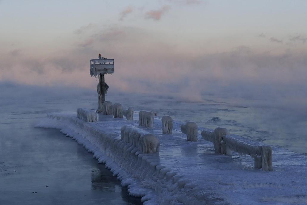 ap.19.01.31. - Sarkvidéki hideg az Egyesült Államokban