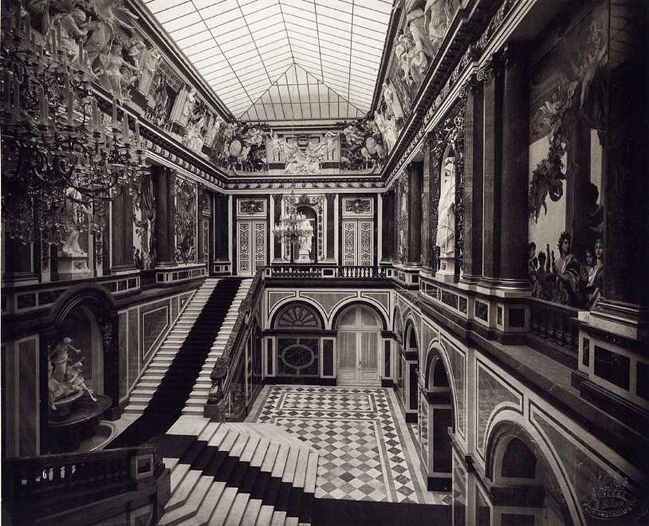 fortep_! - Klösz György kastély nagyítás - Joseph Albert fotográfus felvétele Münchenről. A felvétel 1887-ban készült.