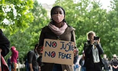 Budapesten is tüntettek a rasszizmus ellen (fotók)