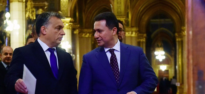 Orbánnál nem mindenki járt olyan szerencsével, mint Gruevszki