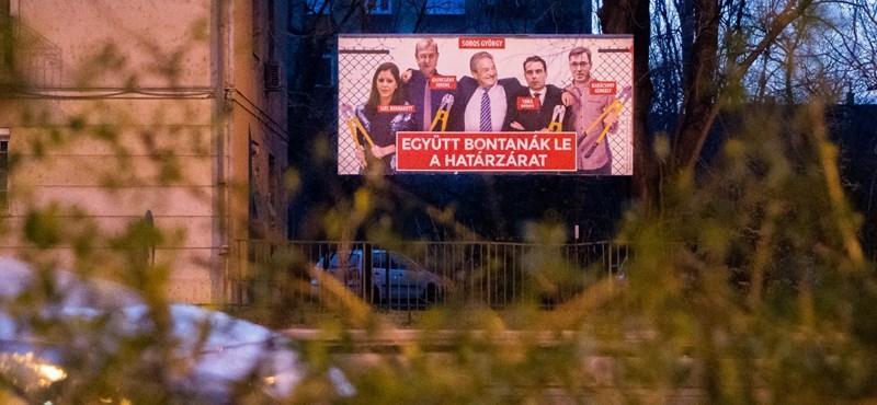 A Fidesz megint azzal kampányol, hogy Gyurcsányék le akarják bontani a határzárat