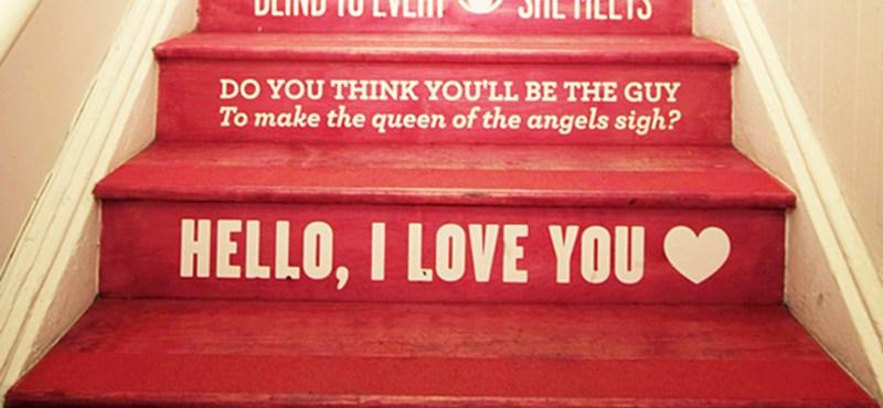 Doors-rajongók szívéhez szóló lépcső New Yorkban