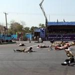 Legalább 25 halottja van az iráni terrortámadásnak - 18+ videó
