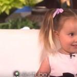 Mindenkit lenyűgözött tudásával ez a 3 éves kislány