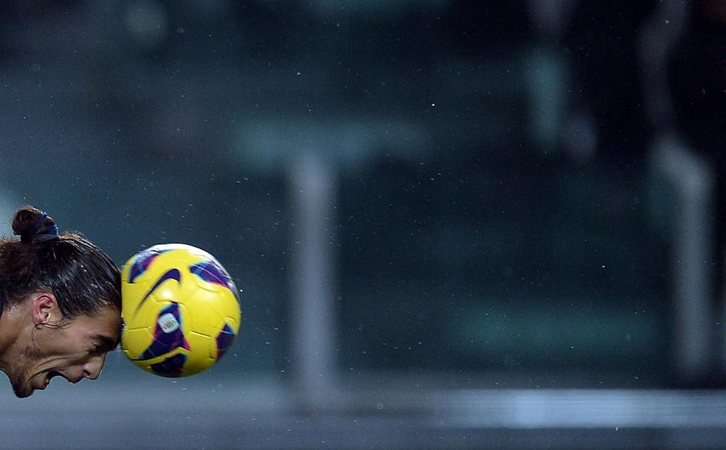 13.01.19. - Turin, Olaszország: a Juventus uruguayi védőjének, Martin Caceres fejese - évképei, az év sportképei