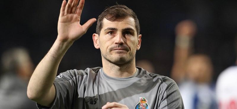Fél éve kapott szívrohamot, már újra edz Iker Casillas