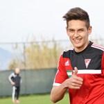 DVSC-focistát venne a Palermo