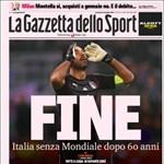 Gyász! Így siratják az olasz lapok a focikatasztrófát