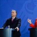 Merkel Orbánról: Furcsának tartom, ahogy minket szapul