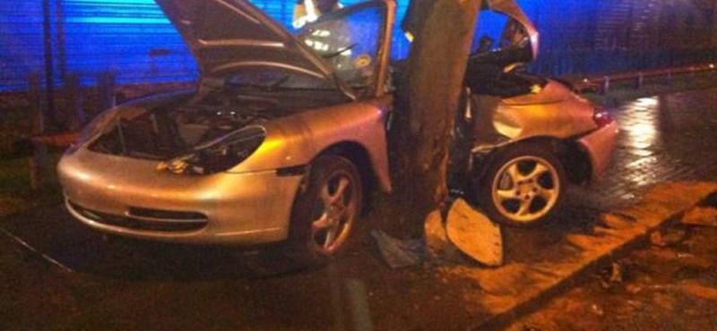 Ilyen, amikor fára csavarodik egy 911-es Porsche – fotó