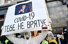 45 ezerhez közelít az ukrajnai koronavírus-fertőzöttek száma