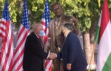 Felavatták George H.W. Bush szobrát a Szabadság téren