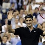 Megműtik Federer térdét, februárban nem játszik