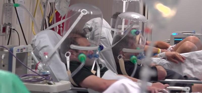"""Videó Bergamo kórházából: """"Erre készüljetek!"""""""