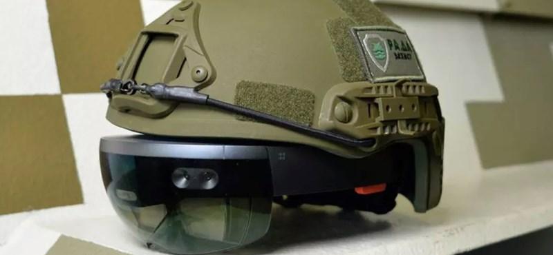 Ahol ilyen szemüveget tesznek a katonák sisakjára, ott nehéz lesz mellélőni