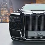 80 millió forinton nyit Putyin orosz hibrid luxusautója