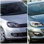 Ezek a típusok most a legnépszerűbb importautók Magyarországon