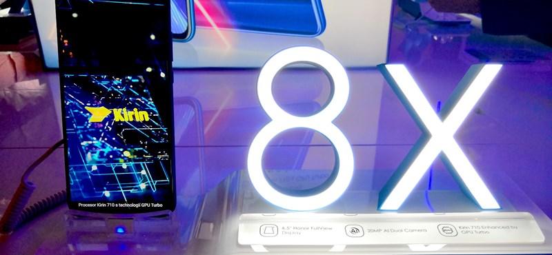 Majdnem csúcsmobil, középkategóriás áron: itt a Huawei új telefonja, a Honor 8X