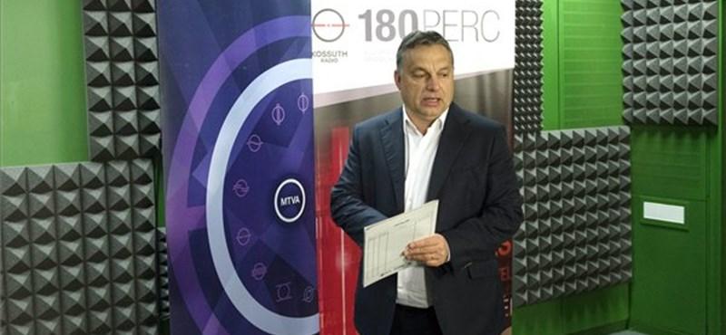 """Orbán: """"Mire Magyarországra érkezik, már mind megélhetési bevándorló"""""""