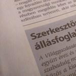 A Mediaworks kiadón belül is megdöbbentek a Népszabadság felfüggesztésén