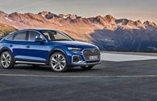 Újabb kupé divatterepjáró: itt az Audi Q5 Sportback