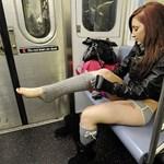 Fókuszpont: nadrág nélküli metrózás New Yorkban