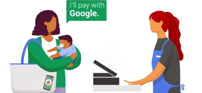 Remek dolgot talált ki a Google: egyetlen szóval fizethetünk a pénztáraknál