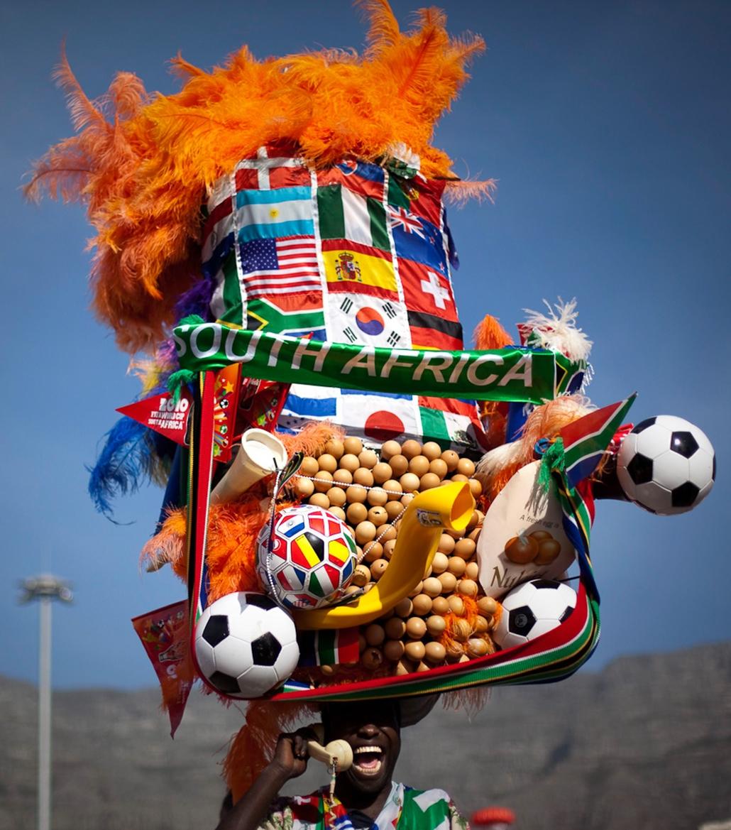 hét képei nagyítás foci vébé dél afrika szurkoló