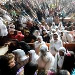 Bebörtönzött kollégáikért tüntettek az újságírók Egyiptomban