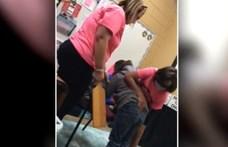 Az édesanya titokban felvette, ahogy a hatéves gyerekét veri az igazgató egy floridai iskolában