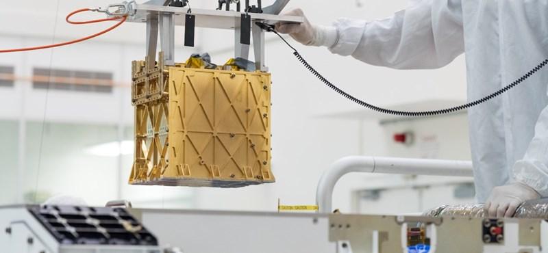 Itt a NASA újabb sikere: 10 percre elég oxigént termelt a Marson a Perseverance