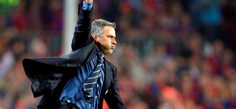 """Mourinho: """"Ez volt életem legboldogabb veresége!"""""""